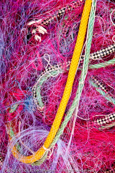 Fishing Nets on the Dock, Cassis, France