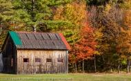 Multi-Colored Roof, Stark, New Hampshire