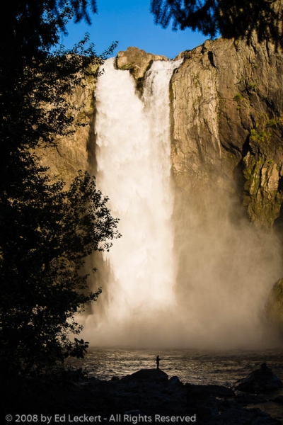 Afternoon at Snoqualmie Falls, Snoqualmie, Washington