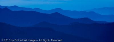Blue Layers, Mount Rainier National Park, Washington