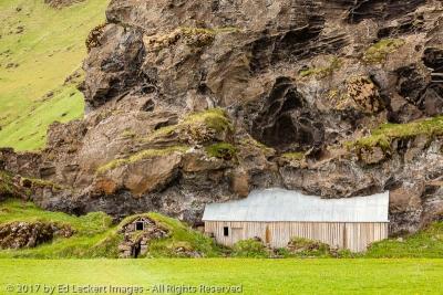 Cowsheds of Drangshlíð 2, Evindarhólar, Iceland