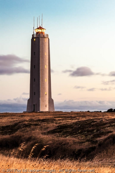Lighthouse at Malarrif, West Iceland