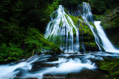 Waterfall Dreams, Panther Creek Falls, Gifford Pinchot National Forest, Washington
