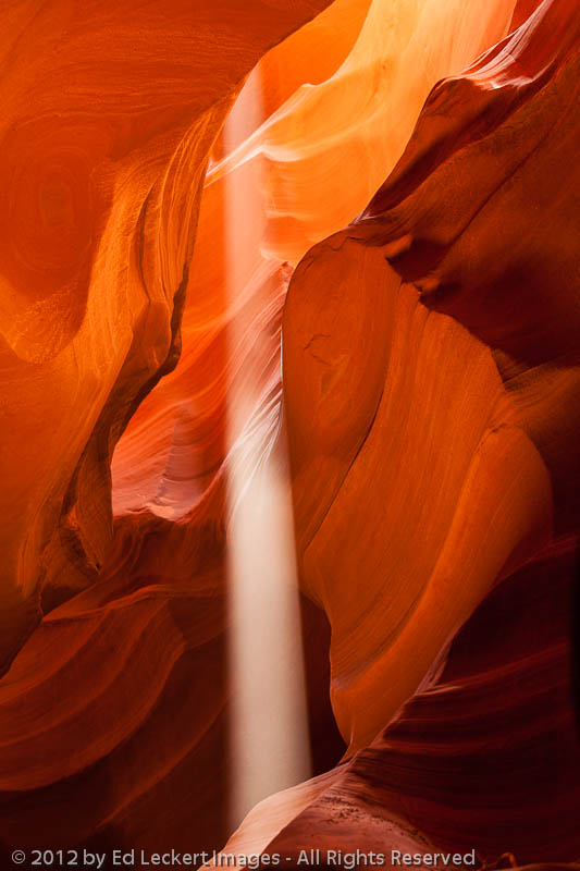 Shaft of Light, Upper Antelope Canyon, Page, Arizona