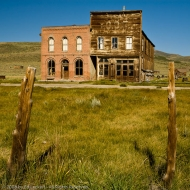 Post Office and Lodge Hall, Bodie, California