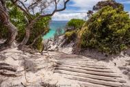 Stairway to Good Times, Freycinet National Park, Tasmania, Australia