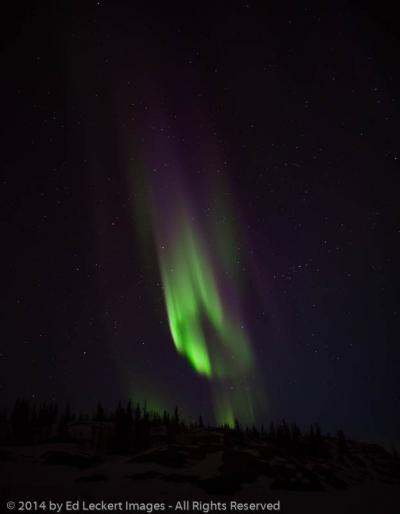 Aurora Activity, Yellowknife, Northwest Territories, Canada