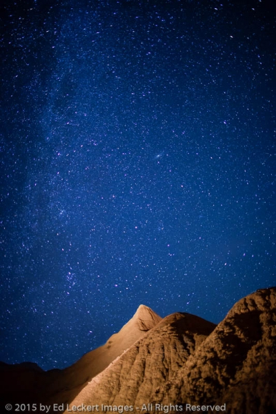 Milky Way over the Badlands, Badlands National Park, South Dakota