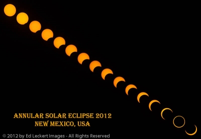 The Annular Solar Eclipse of 2012