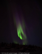 Aurora Activity, Yellowknife, Northwest Territories, Canada