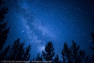 Milky Way over the Umatilla National Forest, Oregon