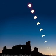 The Annular Solar Eclipse of 2012, Salinas Pueblo Missions National Monument, New Mexico