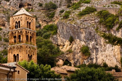Notre-Dame Church and Bell Tower, Moustiers-Sainte-Marie, France