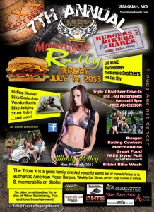 7Th Annual Thundering Angels Burgers Bikers & Babes Motorcycle Rally