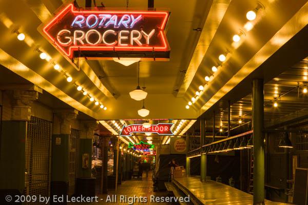 Rotary Grocery, Seattle, Washington