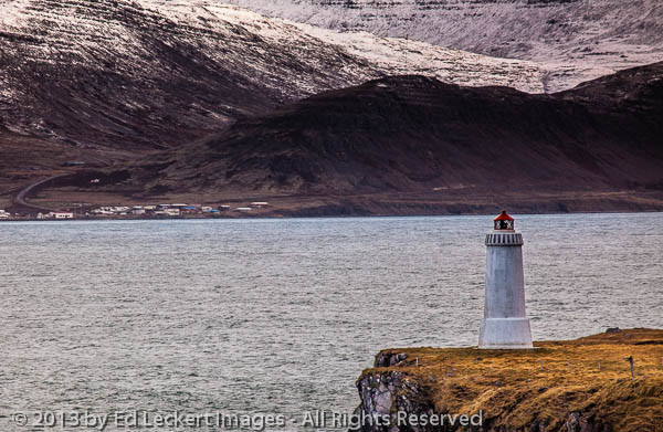 LIghthouse in the Westfjords, Iceland