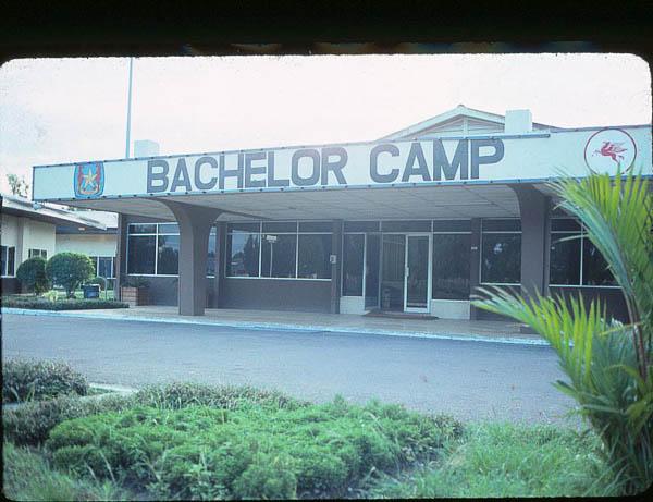 Bachelor Camp, Arun Field, Sumatra, Indonesia