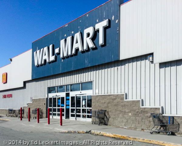 Wal-Mart, Yellowknife, NT, Canada