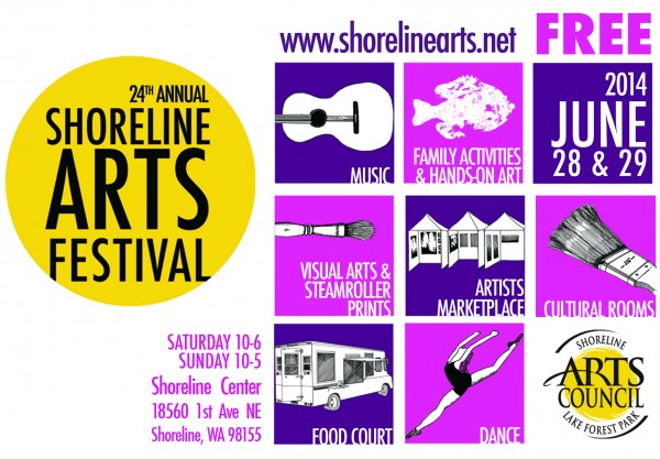 24th Annual Shoreline Arts Festival