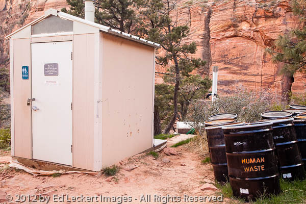 Human Waste, Zion National Park, Utah