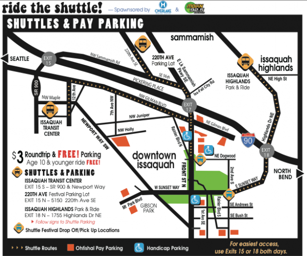 Shuttles and Pay Parking
