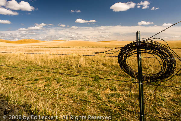 Spool of Wire, The Palouse, Idaho