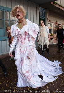 Bride in Distress, Issaquah Zombie Walk, Issaquah, Washington