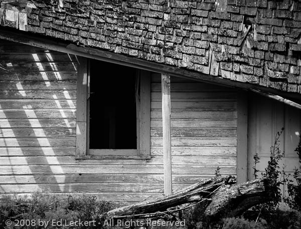 Dark Window, Potlatch, Idaho