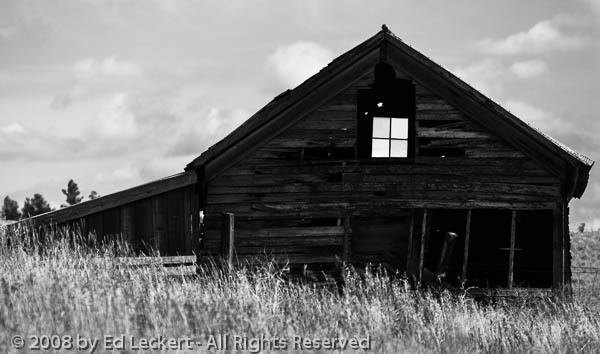 See-thru Barn, Viola, Idaho