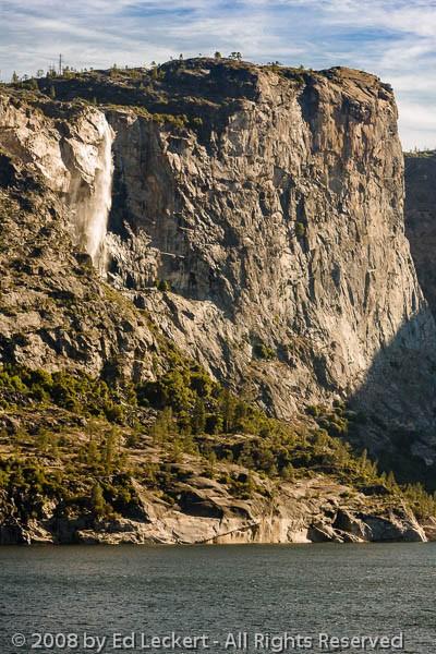 El Capitan's Twin, Hetch Hetchy Valley, Yosemite National Park,