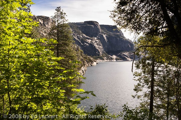 The Hetch Hetchy Reservoir, Yosemite National Park, California