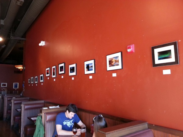Collins Pub Photography Installation`
