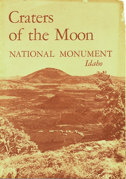 Craters of the Moon Brochure, 1961
