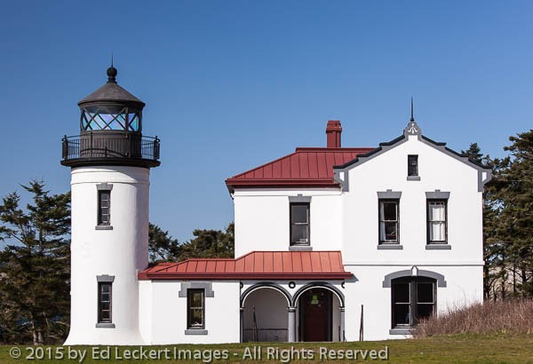 Admiralty Head Lighthouse, Fort Casey State Park, Washington