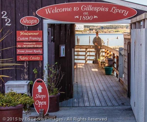 Gillespies Livery, Coupeville, Washington