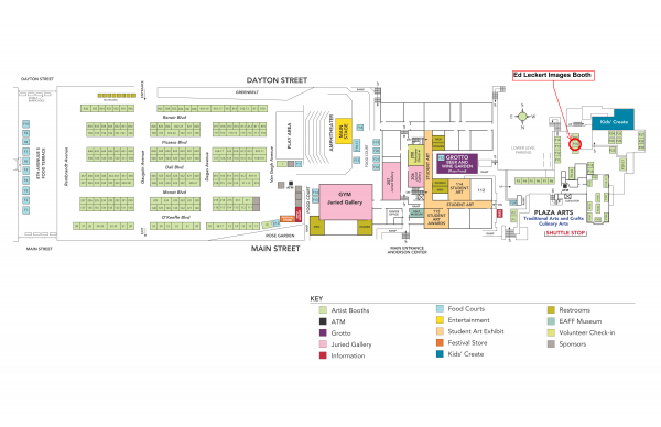 Edmonds Arts Festival Map