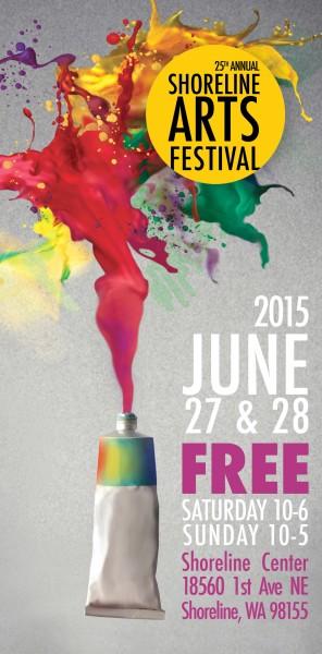 Shoreline Arts Festival Poster 2015