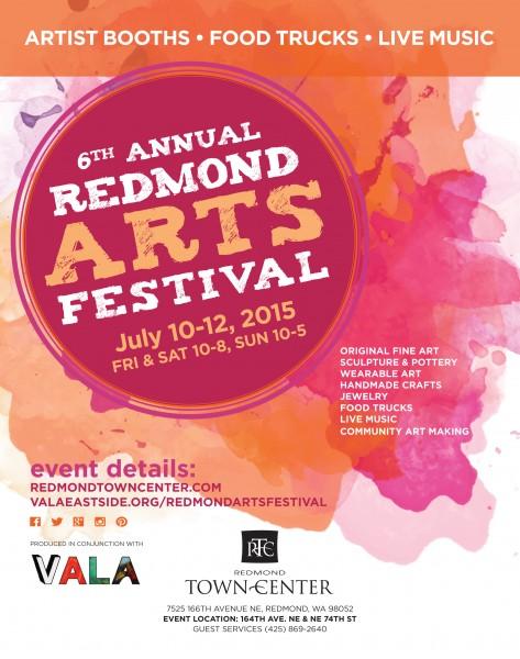 2015 Redmond Arts Festival