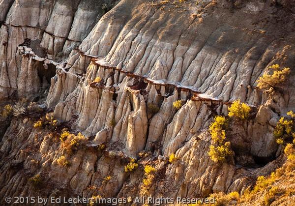 Badlands Slices, Theodore Roosevelt National Park, North Dakota