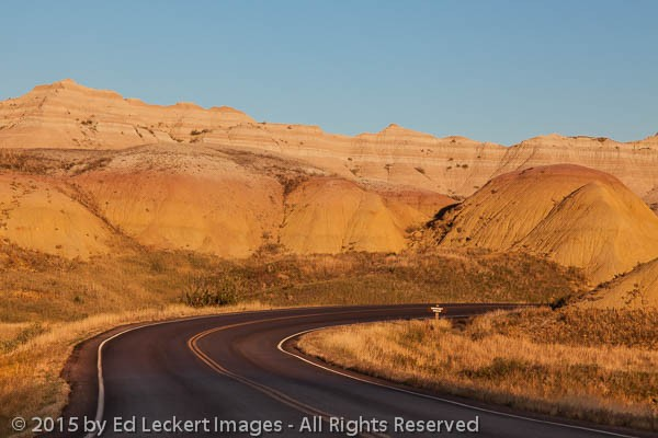 Viewpoint Ahead, Badlands National Park, South Dakota