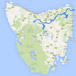 North Tasmania Driving Route