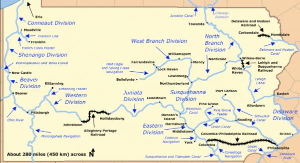 Pennsylvania canals