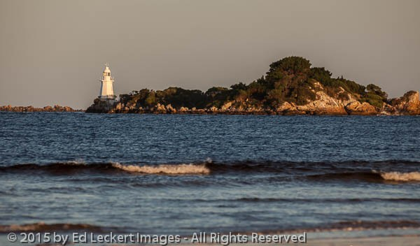 Entrance Island Lighthouse, Macquarie Harbour, Tasmania, Austral