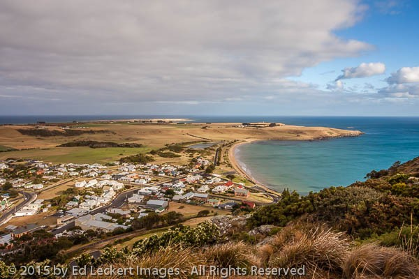 Looking North from The Nut, Stanley, Tasmania, Australia