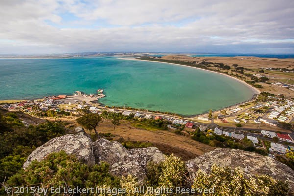 Looking Southwest from The Nut, Stanley, Tasmania, Australia