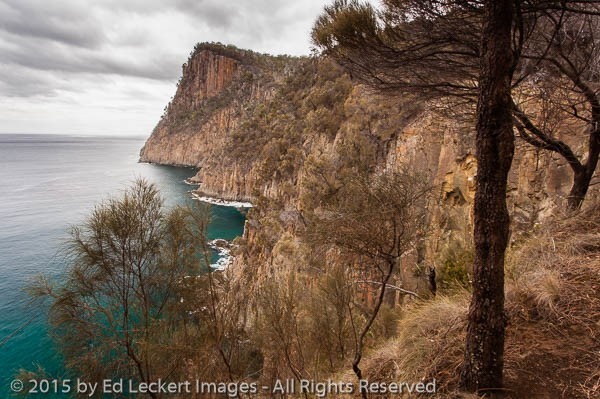 Coastline along the Fluted Cape Walk, Bruny Island National Park