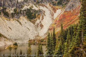 Fall Color Above Ann Lake, Okanogan National Forest, Washington