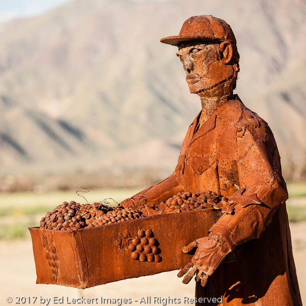 """Farm Workers"", by Ricardo Breceda, Borrego Springs, California"