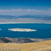 Mono Lake from Mount Dana Summit, Yosemite National Park, California