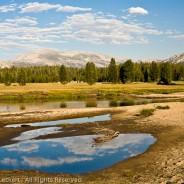 Reflected Clouds, Yosemite National Park, California